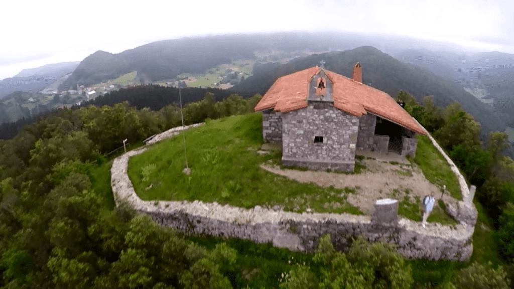 Caves of Santimamiñe - The rural houses of Ea Astei, Urdaibai natural park, Basque Country