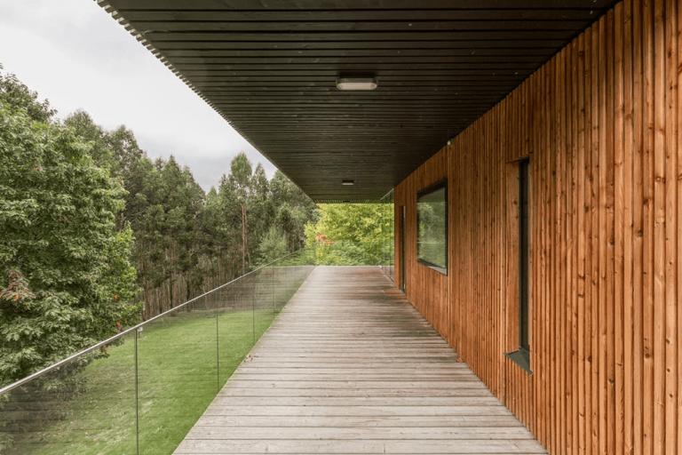 The rural houses of Ea Astei, Urdaibai biosphere reserve, Basque Country